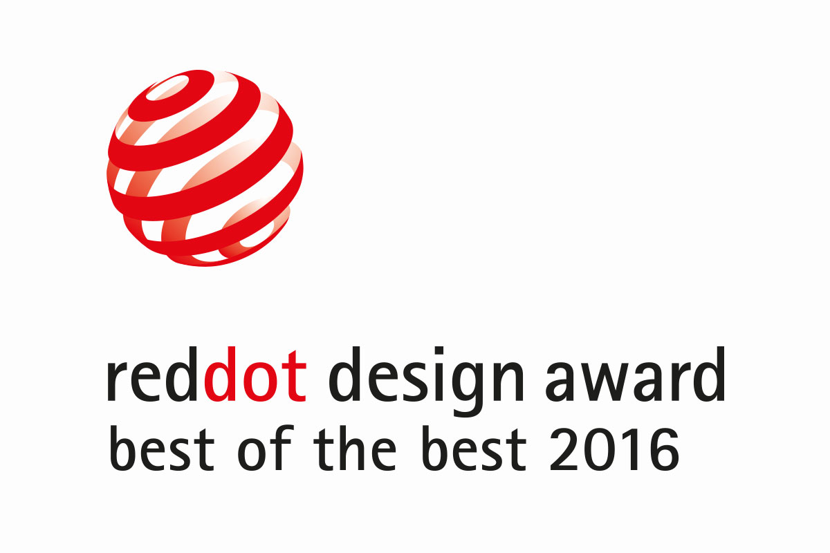 Red dot award best of the best 2016 cleanspace for Milano design award 2016
