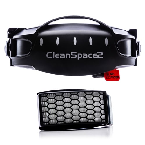 PAF-2038 CleanSpace HEPA filter (Low Profile) Upgrade Kit (inc filter and cover)